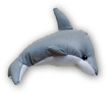 Artikel :   405200  Reflexanhänger Delphin