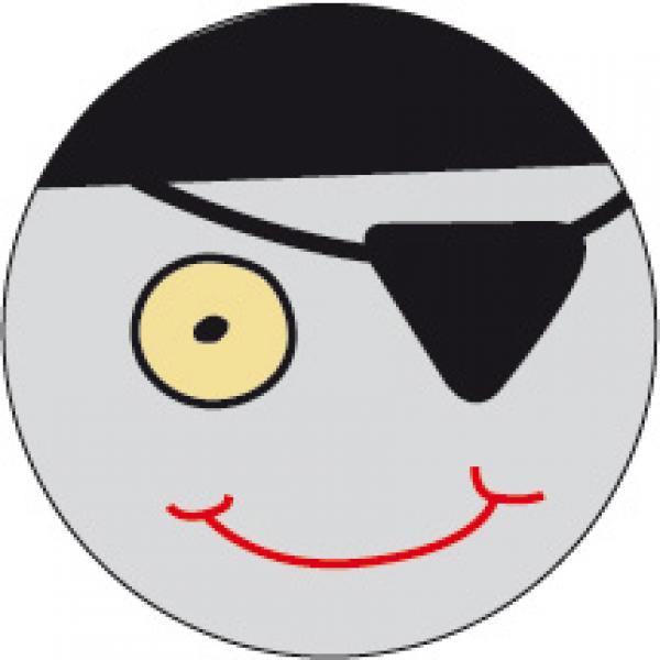 Artikel :   405190  Reflexanhänger Pirat